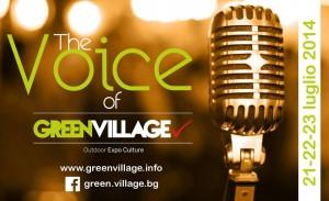 Bergamo, The Voice of Green Village a caccia di nuovi talenti
