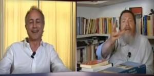 """Giuliano Ferrara contro Marco Travaglio da Mentana: """"Vattene affanculo"""" VIDEO"""