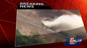 Esplode tubatura Los Angeles, inondata l'università