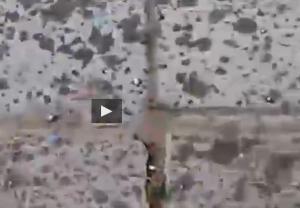 Chicchi grandi come pietre, grandinata sorprende bagnanti in Russia VIDEO