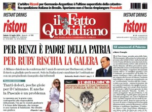 """Marco Travaglio sul Fatto Quotidiano: """"Gli smemorati di Palermo"""""""