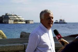 """Costa Concordia, Gianluca Galletti: """"I francesi imparino a fidarsi"""""""