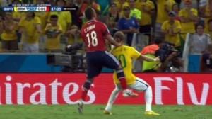 Infortunio Neymar, processo a Zuniga. Ma lui non chiede scusa