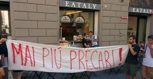 """Eataly Firenze, lavoratori in sciopero: """"Il 50% dei contratti non rinnovato"""""""