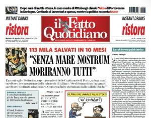 """Marco Travaglio sul Fatto Quotidiano: """"La schiforma psichiatrica"""""""
