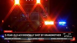 Nonna spara al nipotino di 7 anni. Pensava fosse un ladro