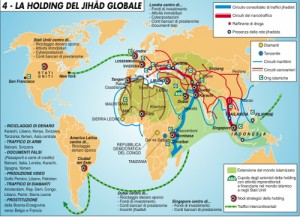 mappa jihad