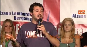 """Matteo Salvini: """"Non fatevi dare lo scontrino, non pagate Iva allo Stato"""" VIDEO"""