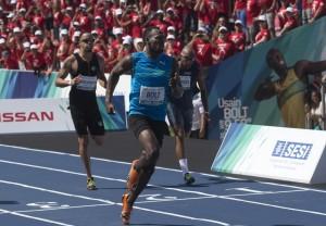"Usain Bolt, record sui 100 mt indoor a Varsavia: 9""98"