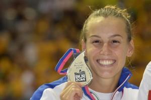 Europei nuoto: Turrini bronzo nei 400 misti, Cagnotto argento trampolino 3 metri donne