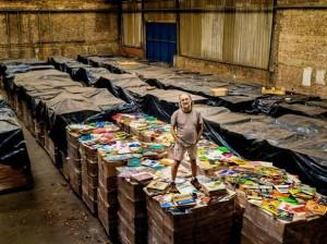 """Zero Freitas, il collezionista di dischi """"che vuole possedere tutti i vinili del mondo"""""""