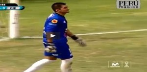 Fernando Canales, l'autogol contro il Cienciano VIDEO