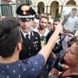 Napoli, corteo per Davide Bifolco. Carabiniere si toglie il cappello 19
