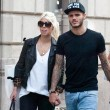 Wanda Nara e Mauro Icardi, shopping a Milano02