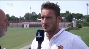 """Francesco Totti: """"Champions League? Se la vinciamo rimangio il gelato"""""""