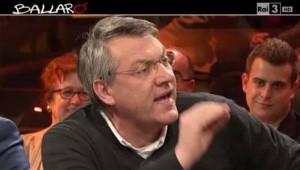 Maurizio Landini (Fiom) star di Ballarò, share 13%