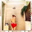 Miley Cyrus nuda sotto la doccia: foto su Instagram