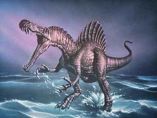 Dinosauri nuotatori: scoperto Spinosaurus, più grande predatore di tutti i tempi