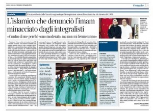 L'articolo del Corriere della Sera