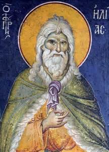 Raffigurazione profeta Abramo
