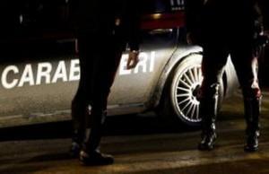 Triggiano (Bari): parte proiettile da mitraglietta, ferito carabiniere