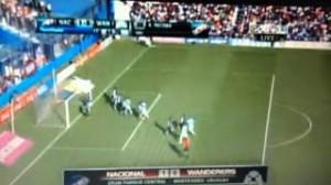 Alvaro Recoba video gol da calcio d'angolo a 38 anni