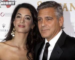 "Dagospia: ""George Clooney-Amal Alamuddin, nozze di copertura"""
