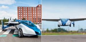 L'aeromotore che può essere utilizzato sia come auto sia come aereo