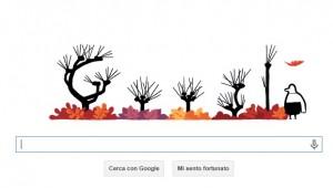 Equinozio d'autunno il 23 settembre...anche per il Doodle di Google