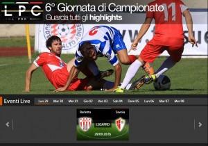 Barletta-Savoia: diretta streaming su Sportube.tv, ecco come vederla