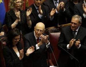 Napolitano a Boldrini e Grasso: Eleggere membri Csm-Consulta entro 10 settembre