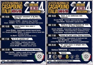 Lecce, raduno CasaPound: protesta degli antifascisti, lancio bombe-carta