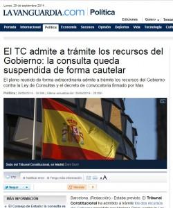 Catalogna: sospeso il referendum per l'indipendenza dalla Spagna