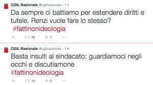 """Articolo 18, Cgil risponde a Renzi: """"Basta insulti al sindacato"""""""