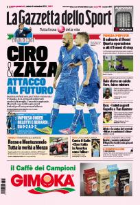 Nazionale, Ciro Immobile e Simone Zaza: attacco al futuro