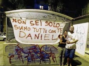Uccise clochard per uno sputo: sit in di solidarietà per Daniele, 17 anni