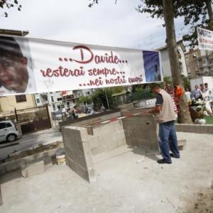Davide Bifolco, nel rione Traiano un mausoleo per ricordarlo FOTO-VIDEO