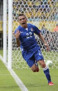 """Nazionale, Emanuele Giaccherini: """"Antonio Conte qui è più sereno"""""""