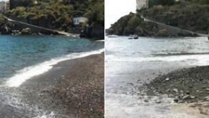 A Lipari scompare la spiaggia (video): Isole Eolie colpite da 20 ore di vento e mareggiate