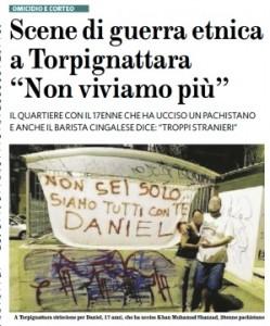 """Torpignattara, Roma. Scene di guerra etnica. I residenti: """"Non viviamo più"""""""