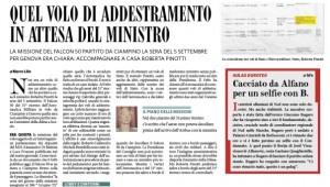 """Il Fatto: """"Quel volo di addestramento in attesa del ministro Pinotti"""""""