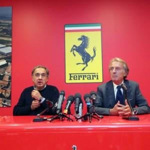 "Ferrari, Marchionne: ""Resta italiana"". Montezemolo verso Alitalia"