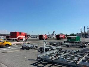 Aereo atterra a Fiumicino per falso allarme bomba: scalo in tilt, scatta piano anti-terrorismo