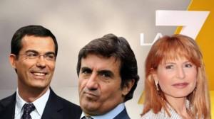 """Enrico Mentana: """"Lilli Gruber sta male. Basta con questo indecente balletto"""""""