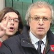Al disturbatore Paolini 14 mesi di carcere