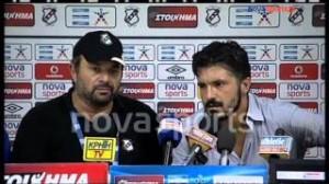 """Gattuso come Trapattoni in conferenza stampa: """"Scrivete tutte cazzate"""" VIDEO"""