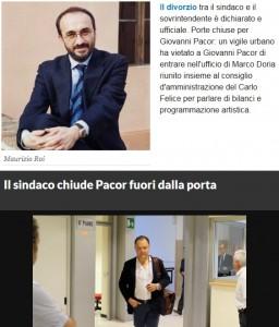 Carlo Felice: Giovanni Pacor fuori, Doria nomina Maurizio Roi nuovo sovrintendente