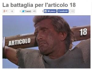 """Beppe Grillo a minoranza Pd: """"Cacciamo Renzi. Riforma del lavoro infame"""""""