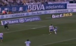 Pablo Hernandez, VIDEO gol di tacco al volo in Atletico Madrid-Celta Vigo