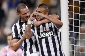 Juventus, Allegri ritrova Vidal e schianta il Cesena (3-0)